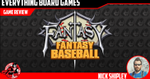 Fantasy Fantasy Baseball Review - EverythingBoardGames.com image