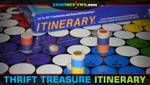 Thrift Treasure: Itinerary Board Game image