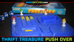 Thrift Treasure: Push Over Board Game image