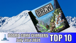 Top 10 Board Game Climbers for Week Ending in July 21st 2021 - YouTube image