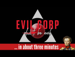 Evil Corp in about 3 minutes - YouTube image