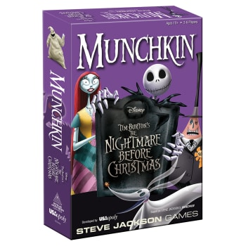 Munchkin: The Nightmare Before Christmas board game