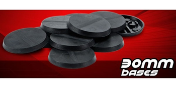 Aristeia! 30mm Round Bases board game
