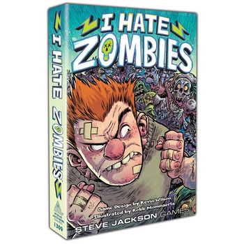 I Hate Zombies board game