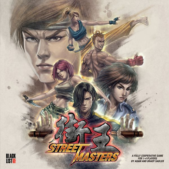 Street Masters board game