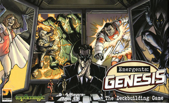 Emergents: Genesis – The Deckbuilding Game board game