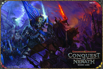 Dungeons & Dragons: Conquest of Nerath Board Game board game