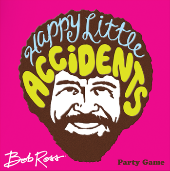 Bob Ross: Happy Little Accidents board game