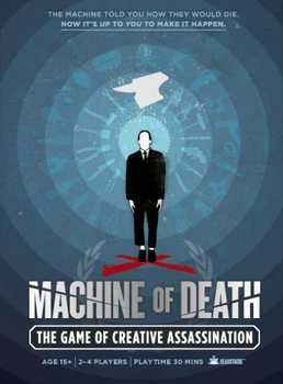 Machine of Death: The Game of Creative Assassination board game