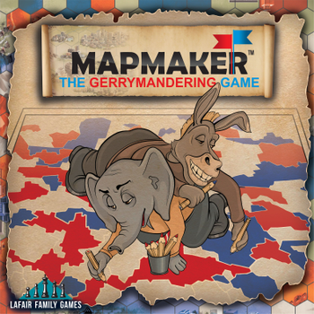 Mapmaker: The Gerrymandering Game board game