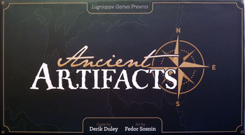 Ancient Artifacts board game