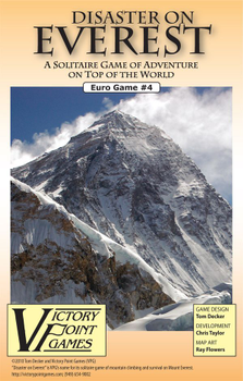 Disaster on Everest board game