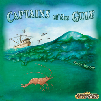 Captains of the Gulf board game