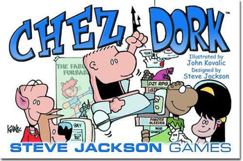 Chez Dork board game