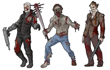 Zombicide Set #4: Moustache Pack board game