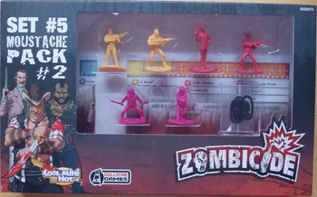Zombicide Set #5: Moustache Pack #2 board game