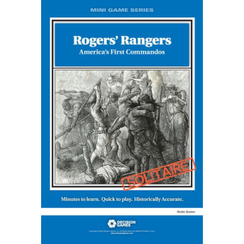 Rogers' Rangers: America's First Commandos board game