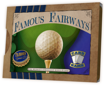 Famous Fairways: The World's Smallest Golf Game board game