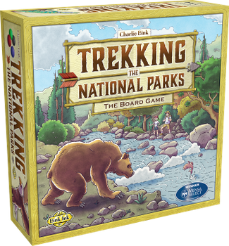 Trekking the National Parks:  First Edition board game