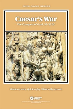 Caesar's War: The Conquest of Gaul, 58-52 BC board game