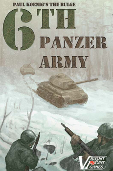 Paul Koenig's The Bulge: 6th Panzer Army board game