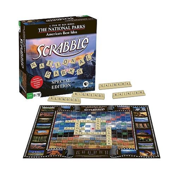 Scrabble: The National Parks Edition board game
