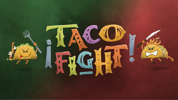 Taco Fight! board game