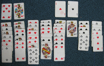 Freecell board game