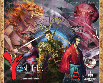 Yashima: Legends from Fairytale board game
