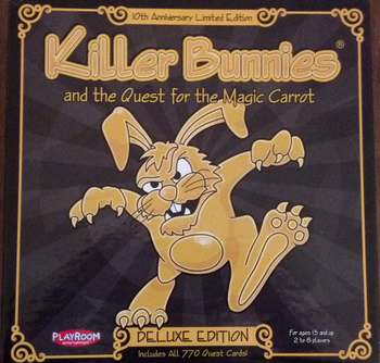 Killer Bunnies and the Quest for the Magic Carrot Deluxe Limited Edition board game
