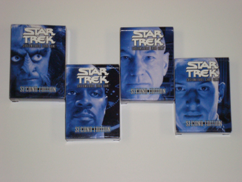 Star Trek Customizable Card Game (Second Edition) board game