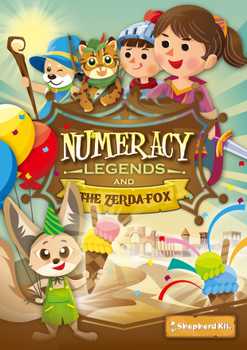 Numeracy Legends and The Zerda Fox board game