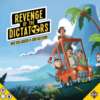 Revenge of the Dictators board game