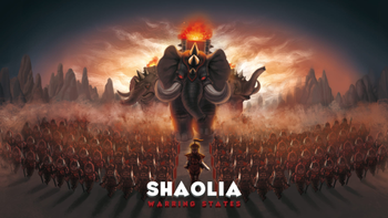 Shaolia: Warring States board game