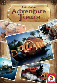Adventure Tours board game