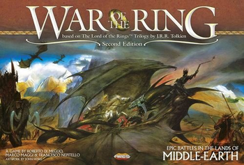 War of the Ring: Second Edition board game