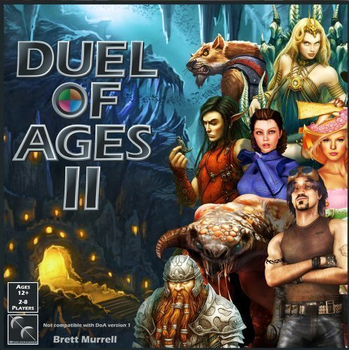 Duel of Ages II Basic Set board game