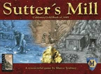 Sutter's Mill board game