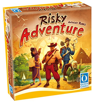 Risky Adventure board game