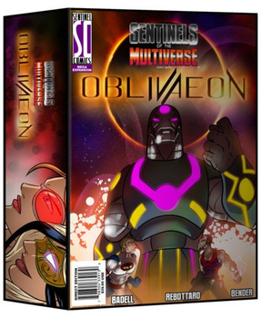 Sentinels of the Multiverse: OblivAeon board game