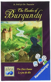 The Castles of Burgundy: The Dice Game board game