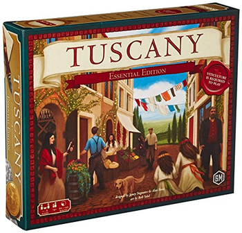 Tuscany: Essential Edition board game