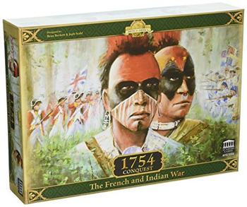 1754 Conquest: The French and Indian War board game