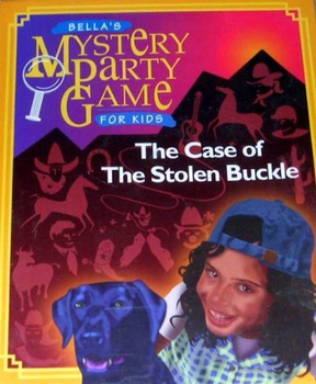 Bella's Mystery Party Game for Kids - The Case of the Stolen Buckle board game