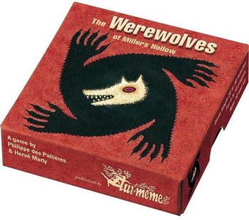 The Werewolves of Miller's Hollow board game