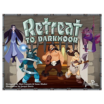 Retreat to Darkmoor board game