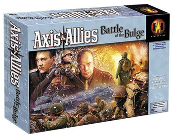 Axis & Allies: Battle of the Bulge board game