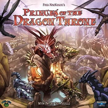 Princes of The Dragon Throne board game