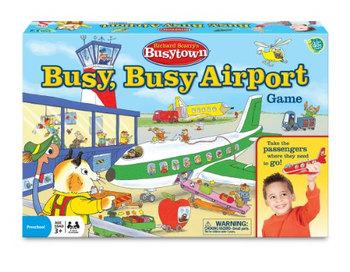 Richard Scarry's Busytown: Busy, Busy Airport Game board game