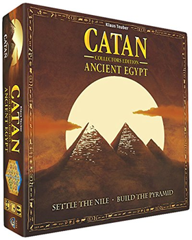 Settlers of Catan: Ancient Egypt board game